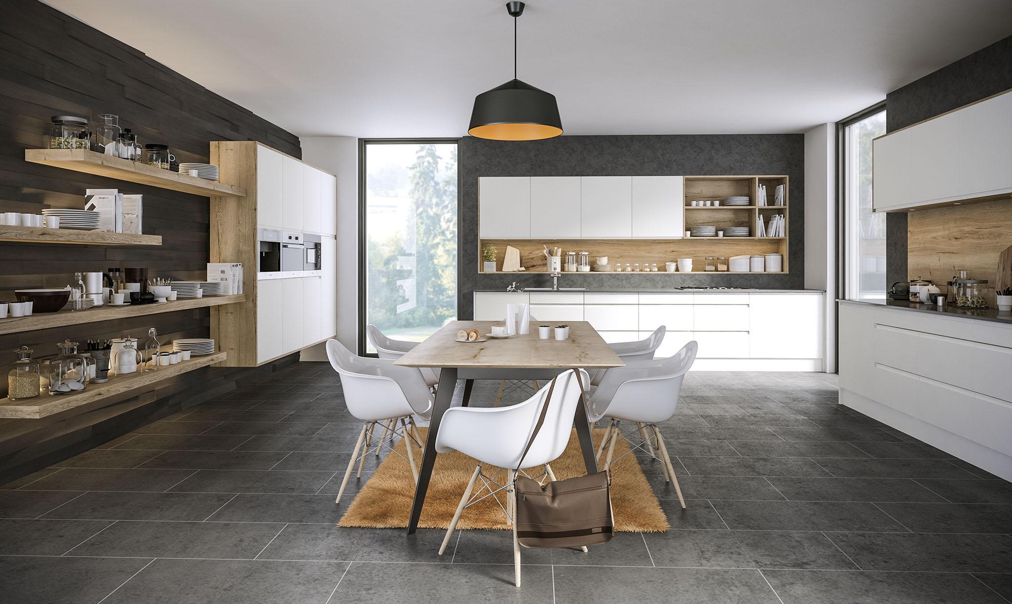 Pronto Rothwell Supermatt White Kitchen