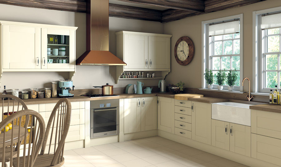 Pronto Cream Ludlow Kitchen