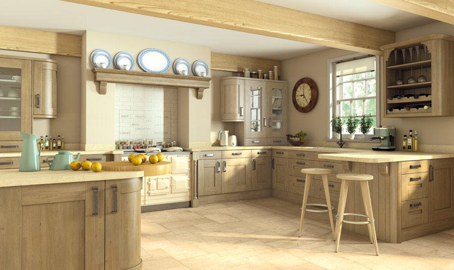 Pronto Odessa Oak Wilton Kitchen