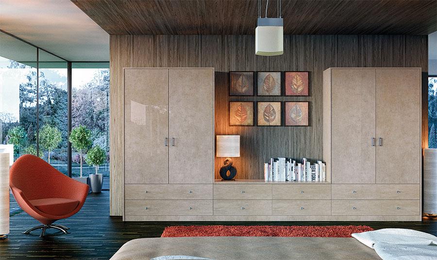 Zurfiz Ultragloss Limestone High Gloss Bedroom