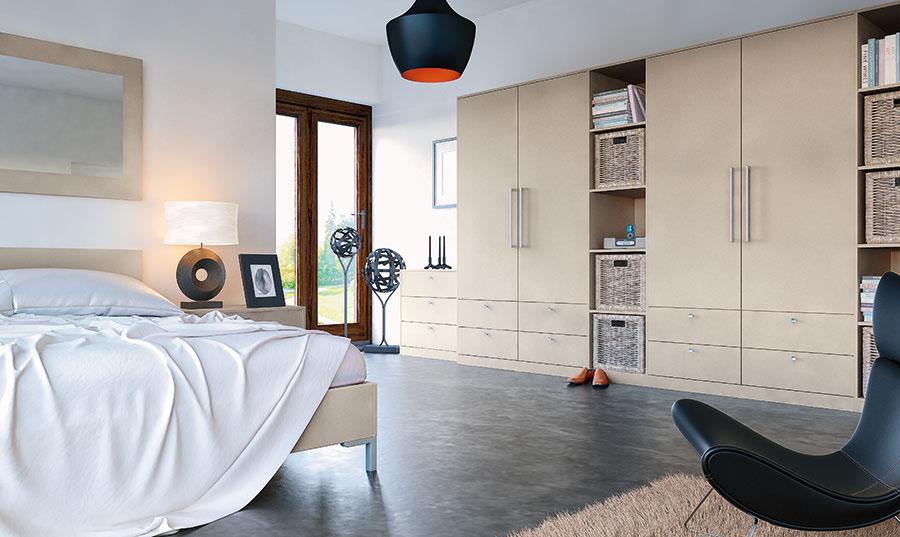 Zurfiz Ultramatt Metallic Cashmere Bedroom