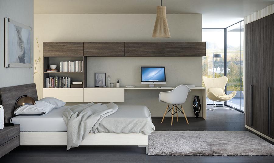 Valore Mali Wenge Mussel Bedroom