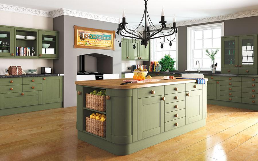 Pronto Woodgrain Paintable Wilton Kitchen