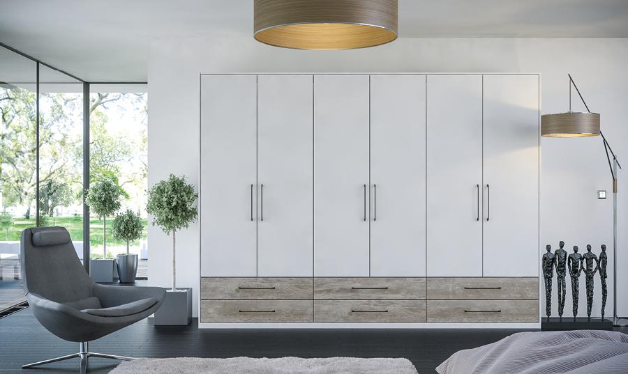Zurfiz Supermatt Light Grey Driftwood Light Grey Bedroom