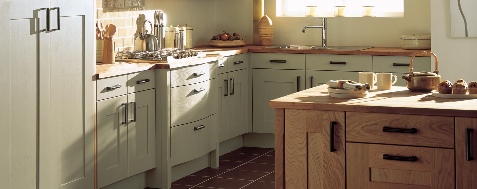 Burbidge Lansdowne Painted Oak Kitchen