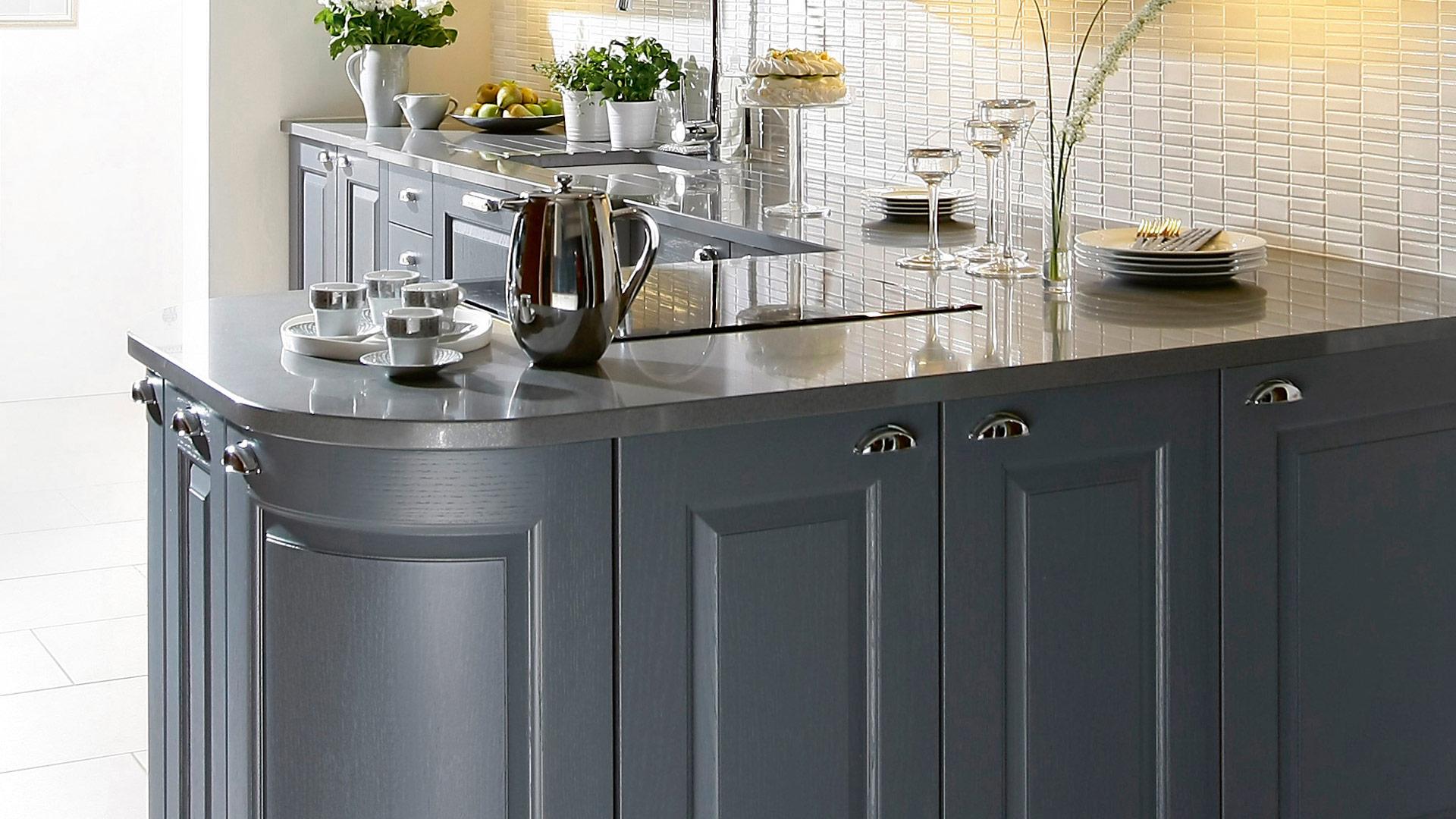Burbidge Kinsale Painted Oak Kitchen