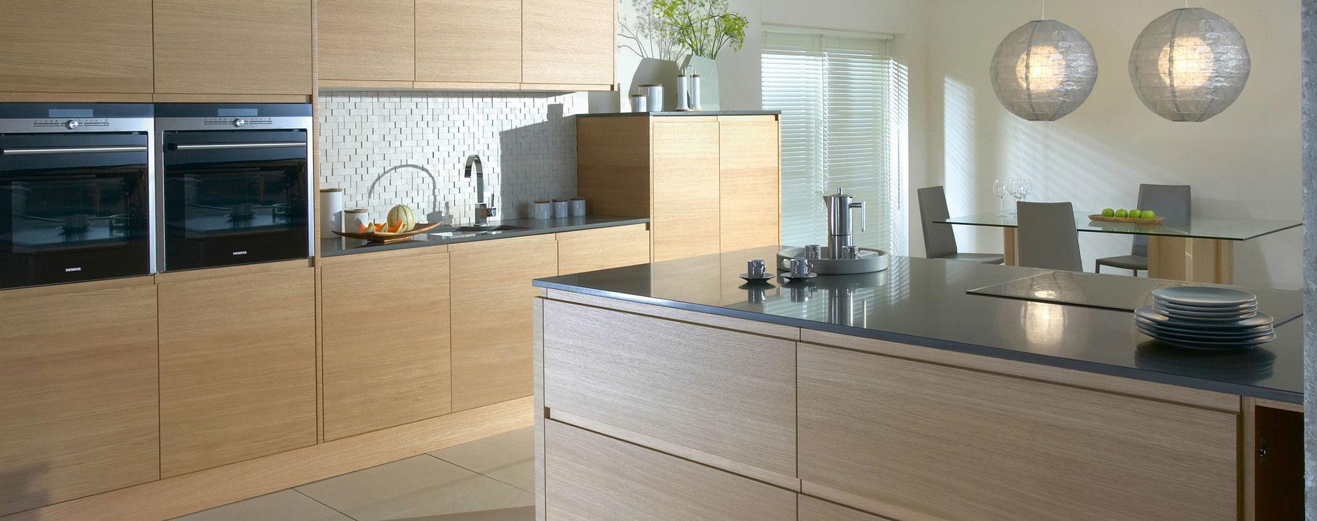 Burbidge Malmo Oak Veneer Kitchen