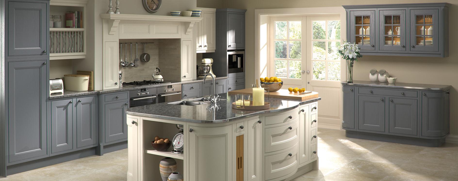 Burbidge Tetbury Painted Oak Kitchen