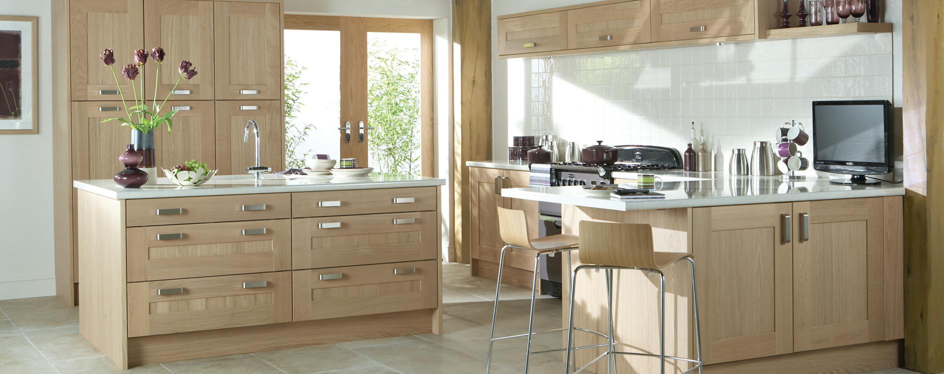 Burbidge Lansdowne Washed Oak Kitchen