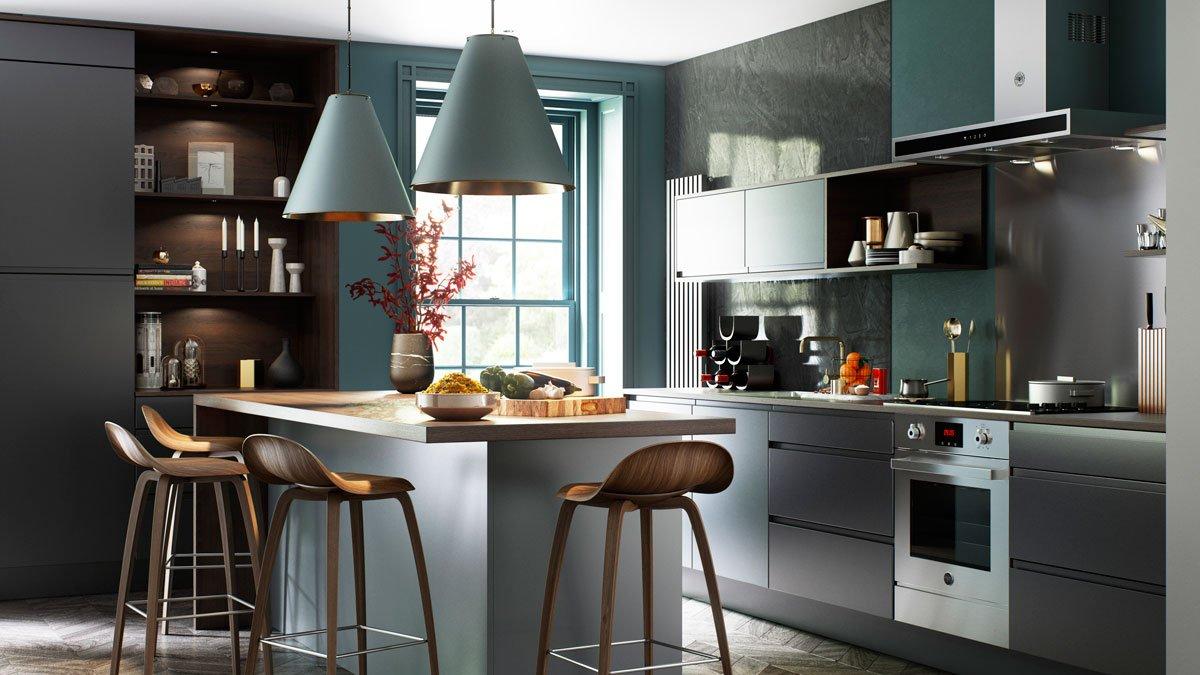 Multiwood Aconbury Matt Bespoke Kitchen