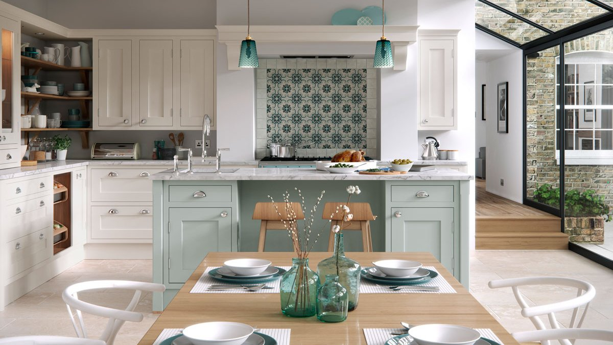 Multiwood Baystone Bespoke Shaker In-frame Kitchen