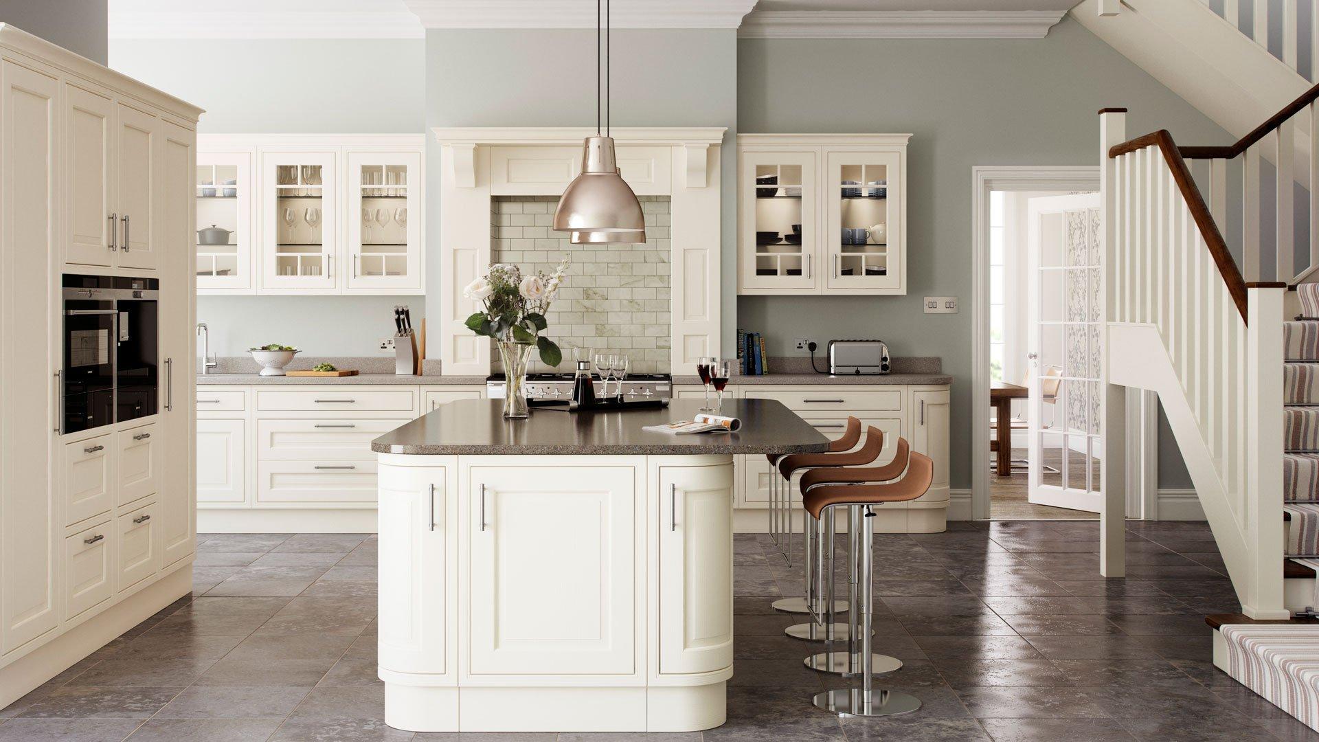 Multiwood Eildon Ash Painted Kitchen