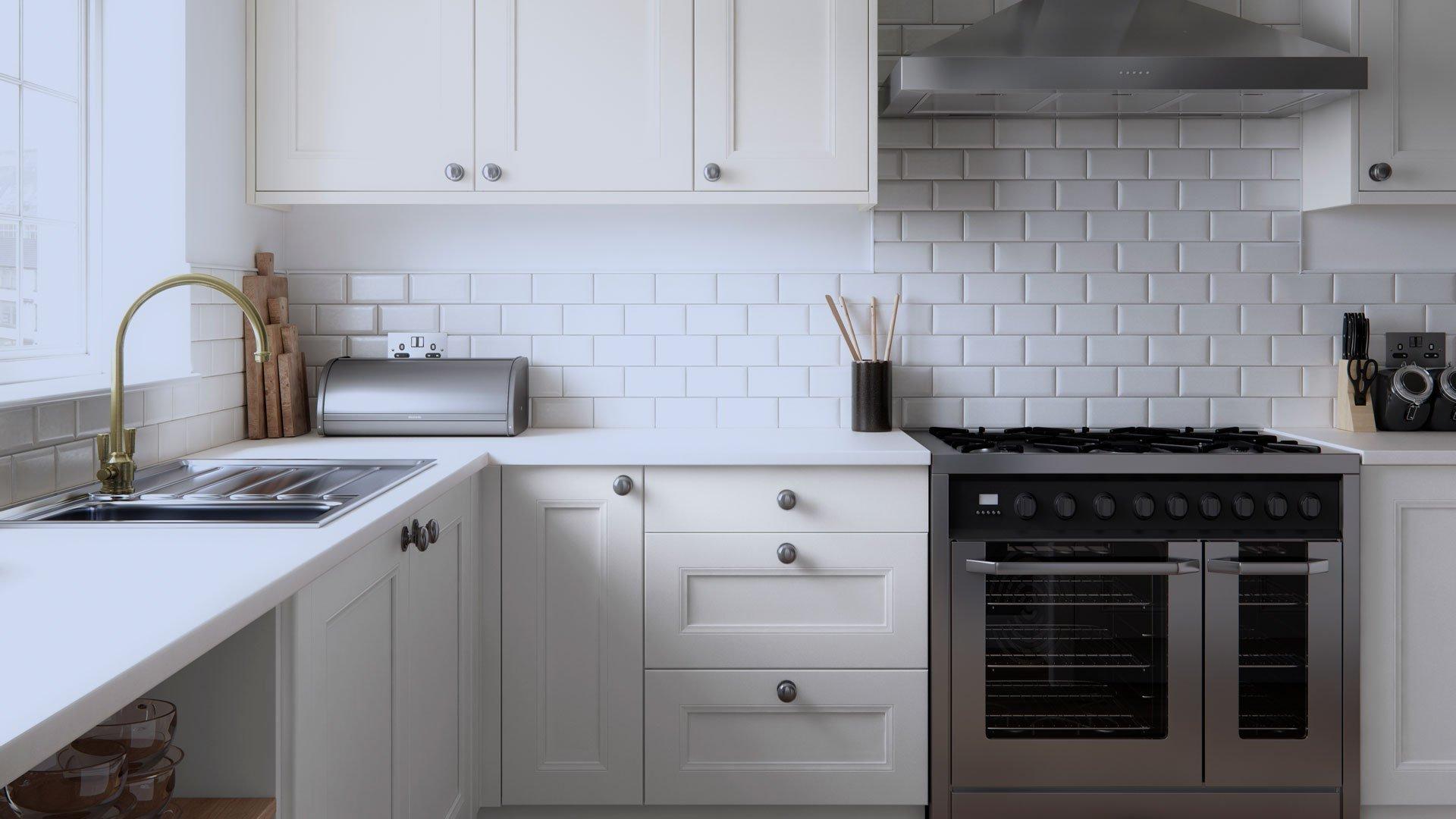 Multiwood Farringdon Beaded Kitchen