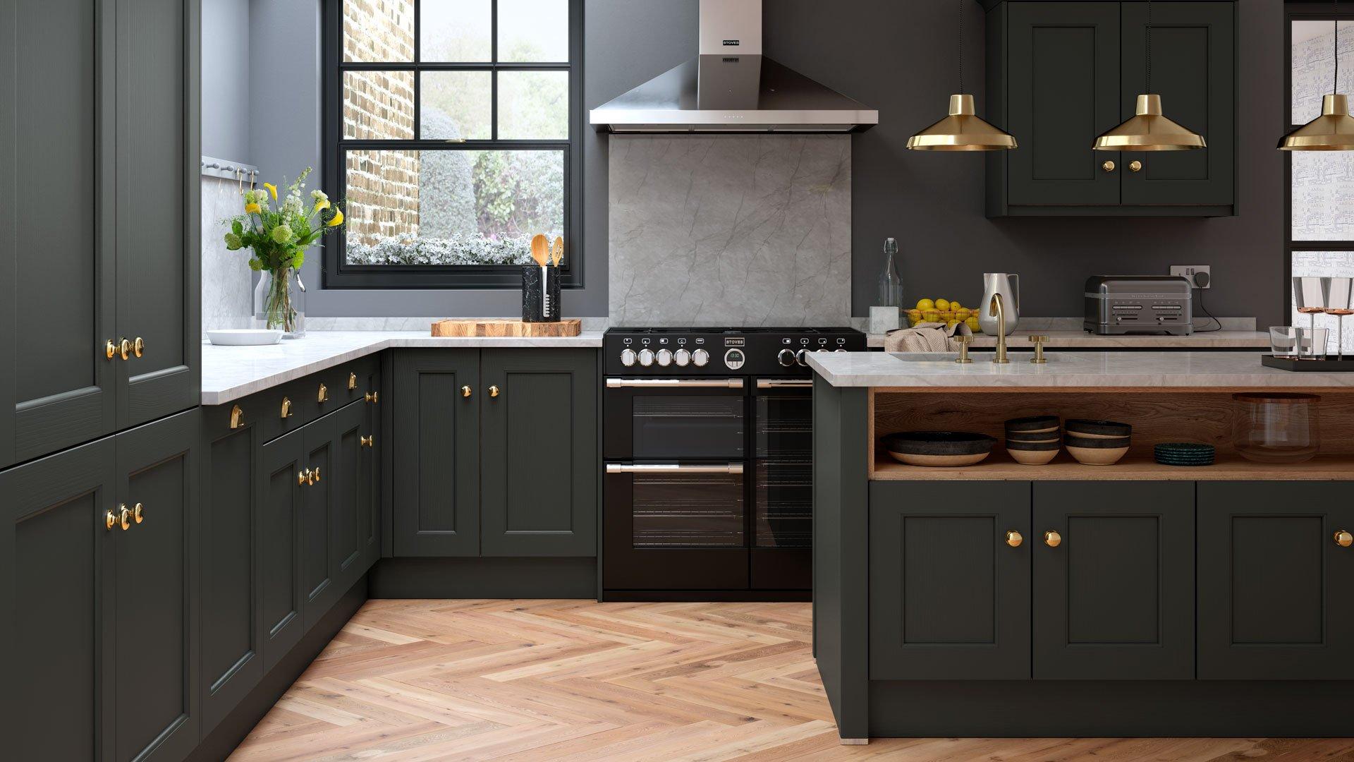 Multiwood Allestree Beaded Kitchen