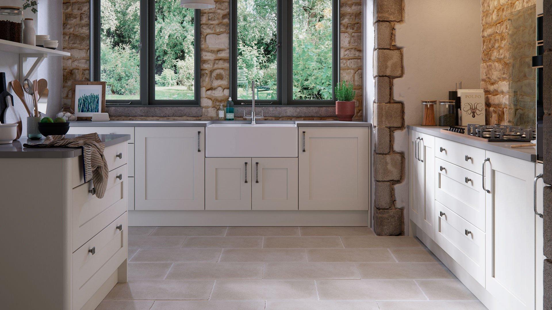 Multiwood Eastdon Shaker Kitchen
