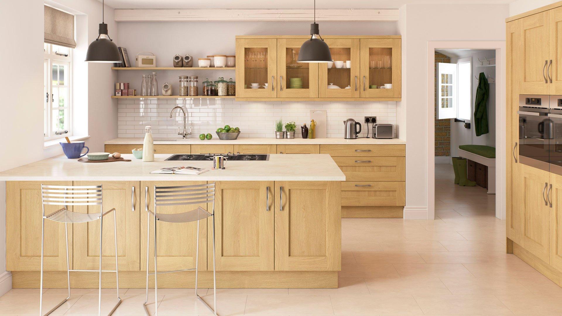 Multiwood Rivington Natural Oak Kitchen