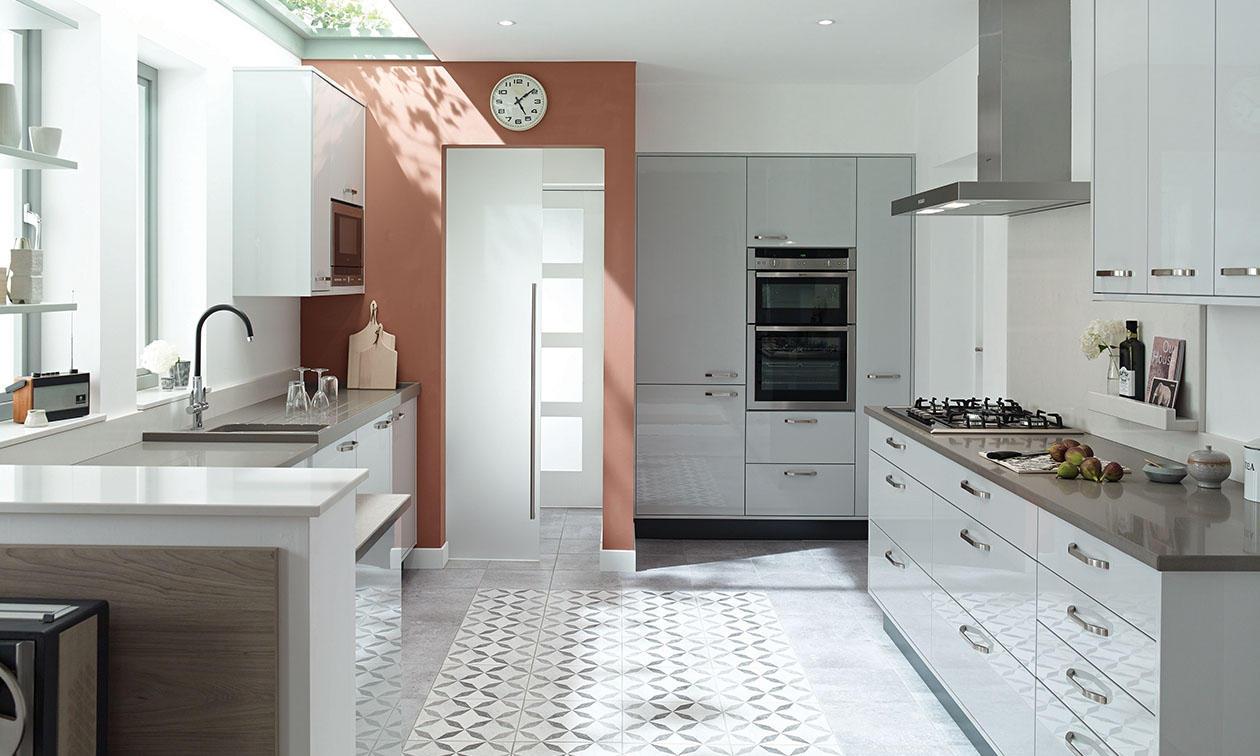 Second Nature Porter Dove Grey Kitchen