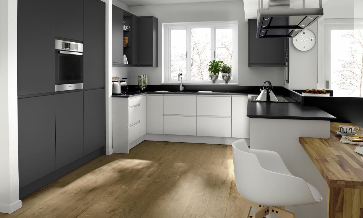 Second Nature Remo Graphite Kitchen