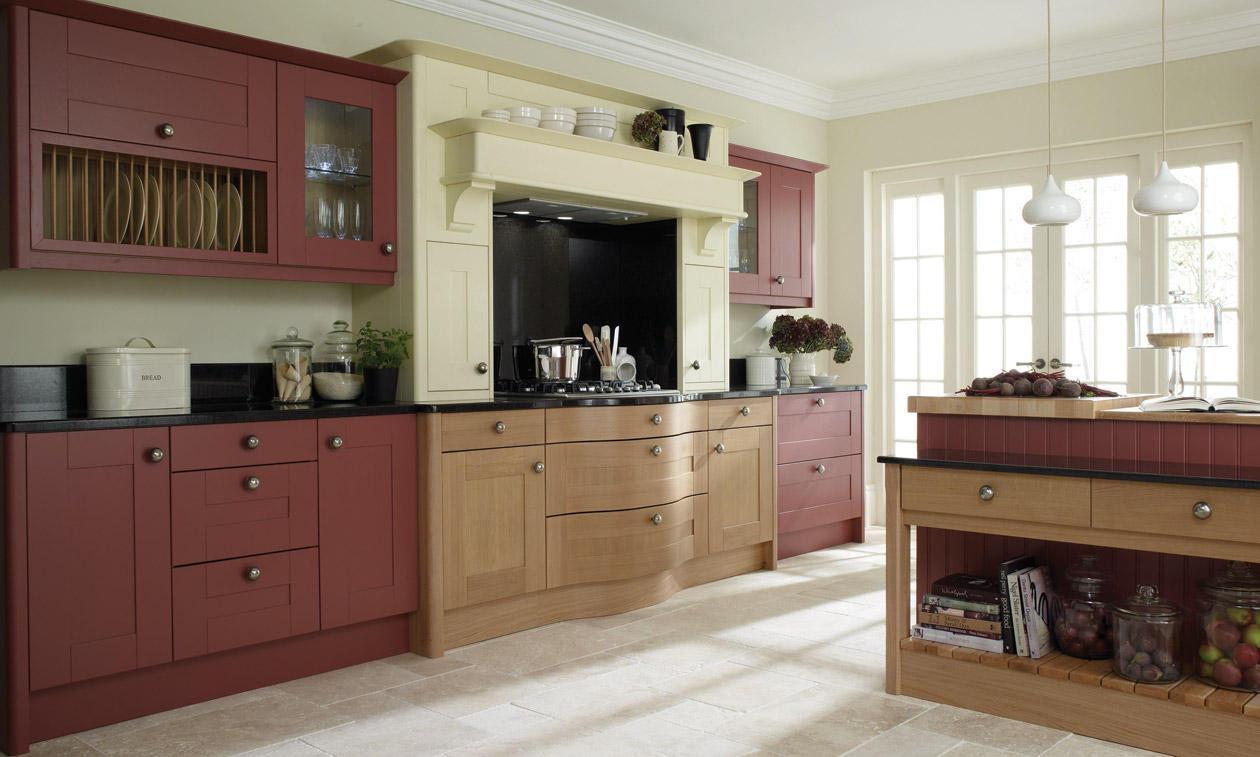 Second Nature Broadoak Painted Kitchen