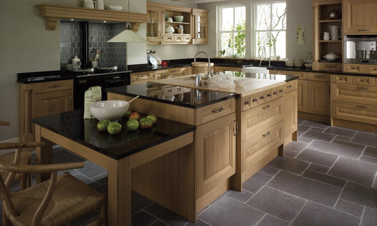Second Nature Cornell Oak Kitchen