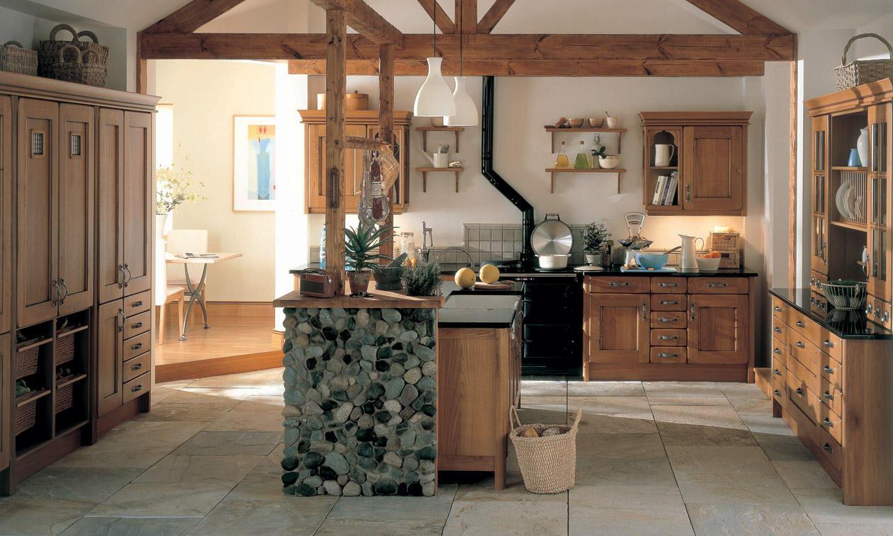 Second Nature Croft Oak Kitchen