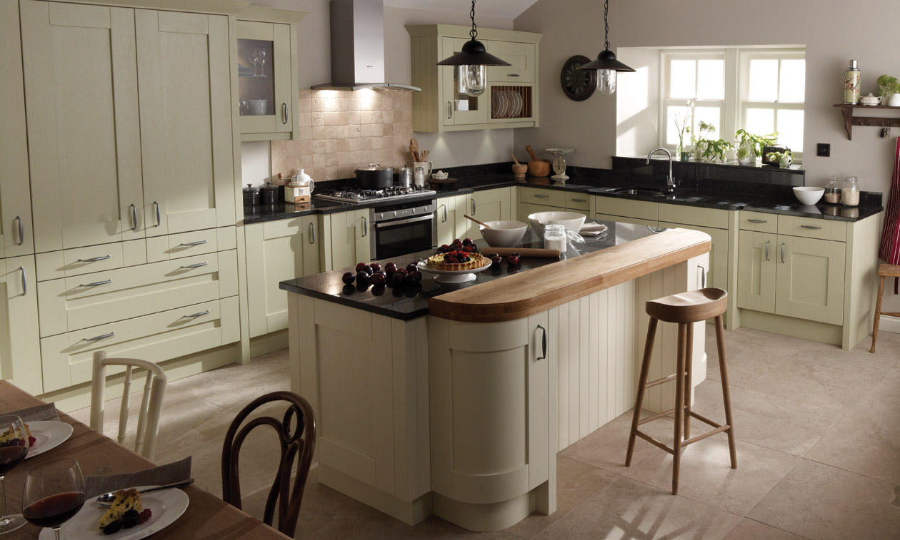 Second Nature Milbourne Alabaster Kitchen