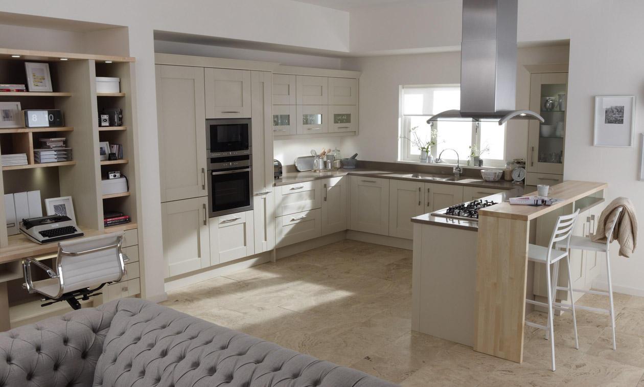 Second Nature Milbourne Almond Kitchen