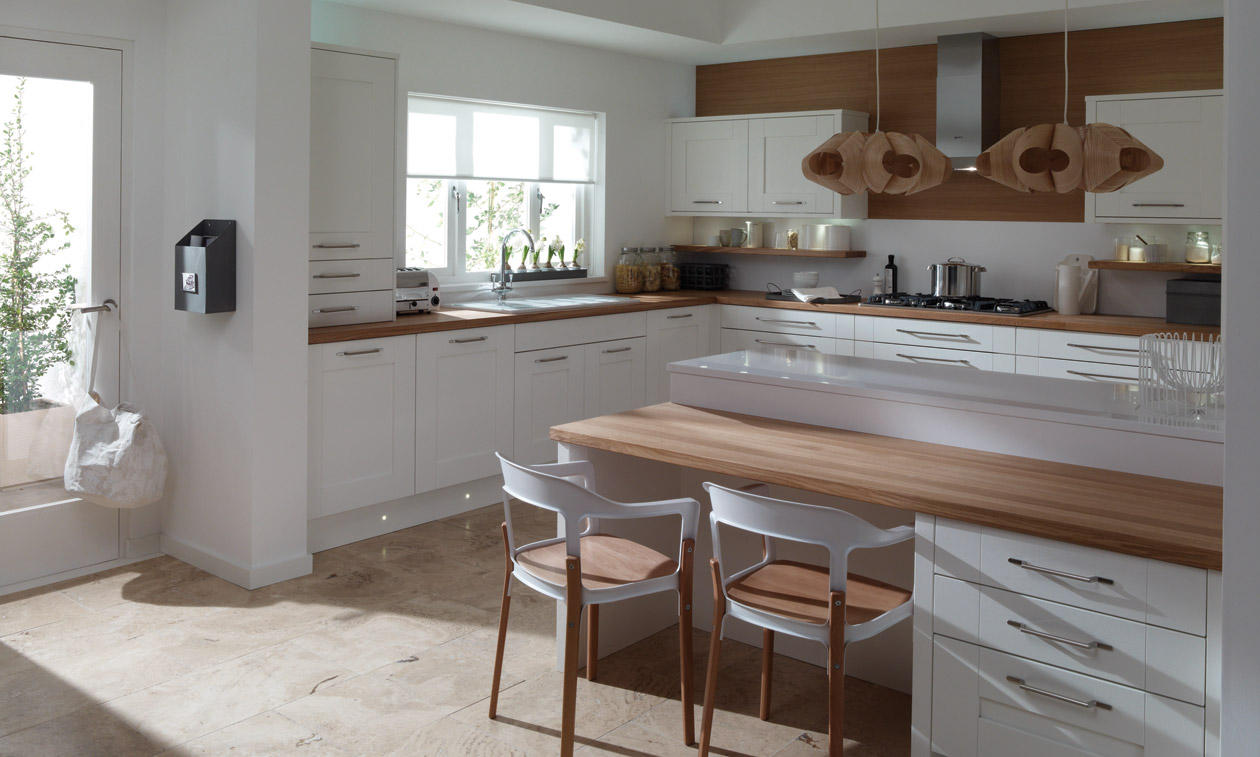 Second Nature Milbourne Chalk Kitchen