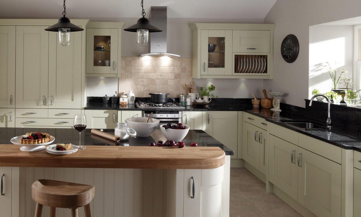 Second Nature Milbourne Sage Kitchen