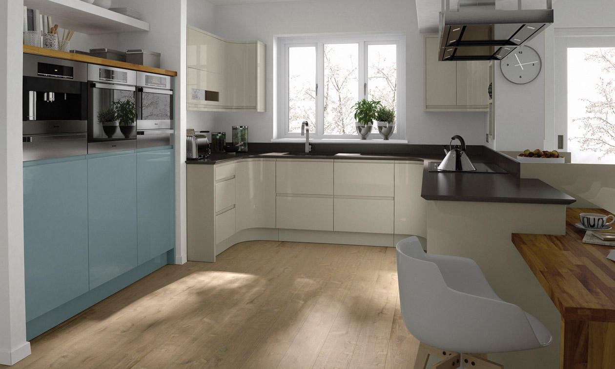 Second Nature Remo Painted Kitchen