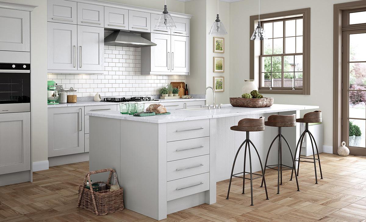 Uform Wakefield Light Grey Kitchen