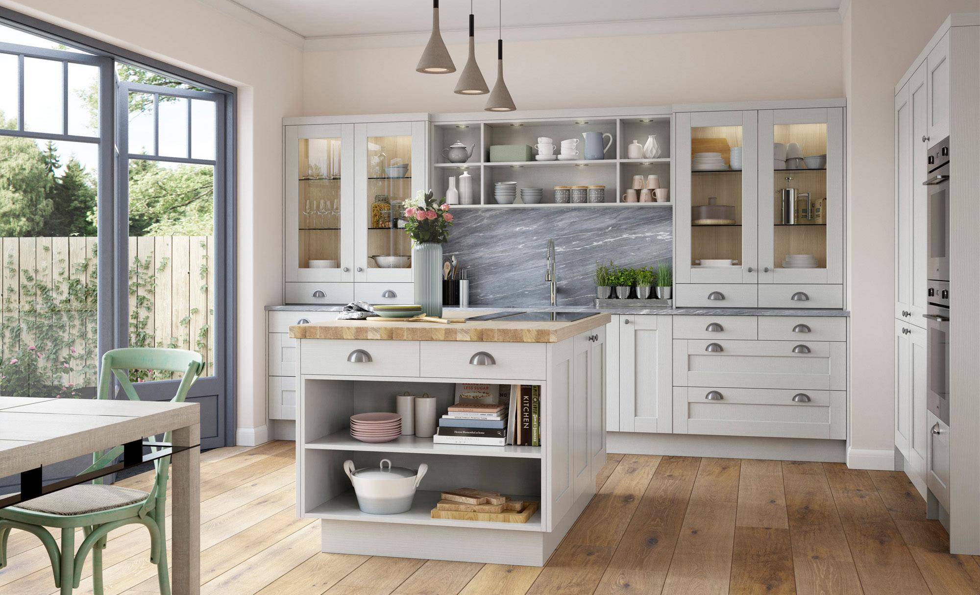 Uform Kensington Light Grey  Kitchen