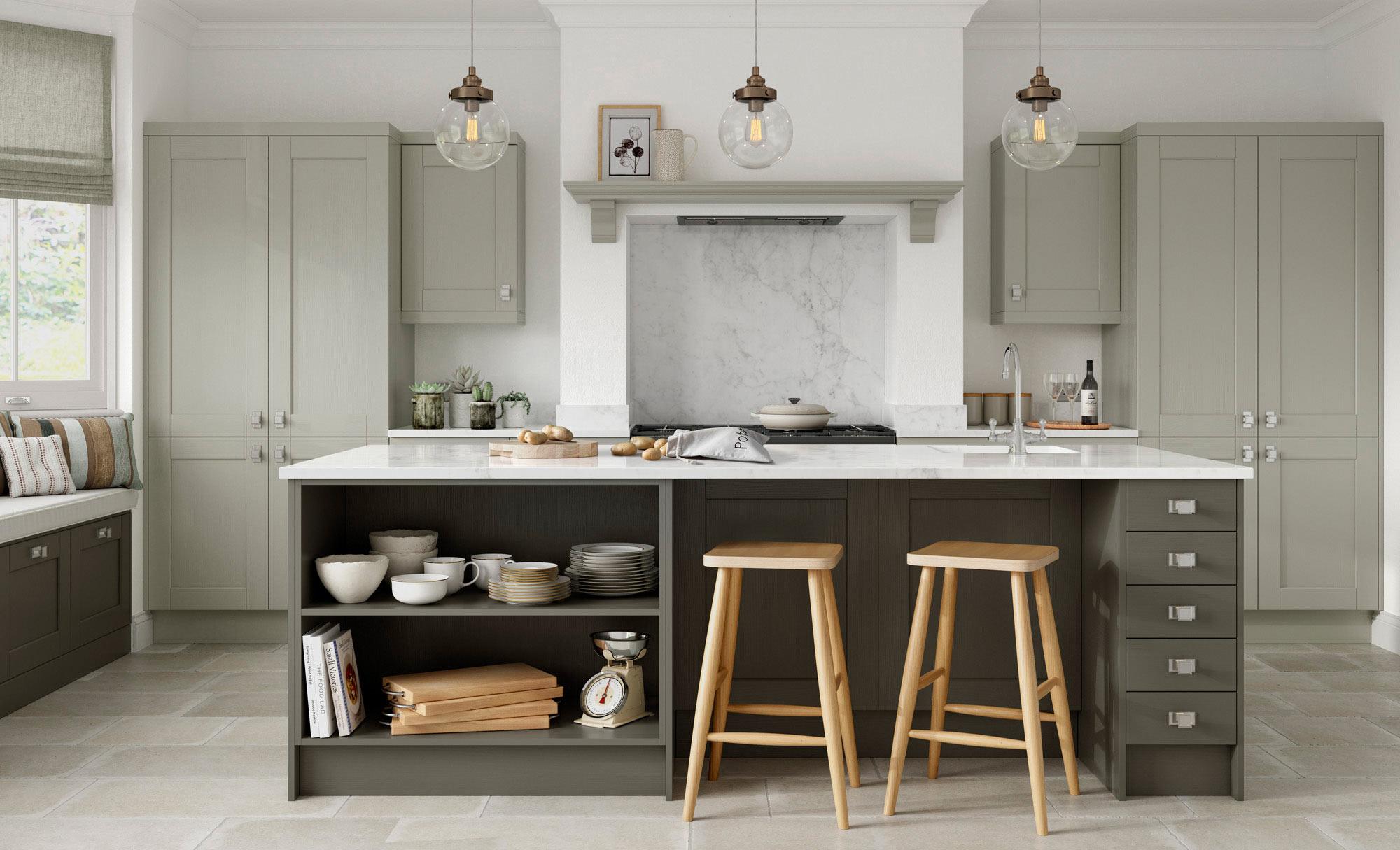 Uform Kensington Lava & Mussel  Kitchen