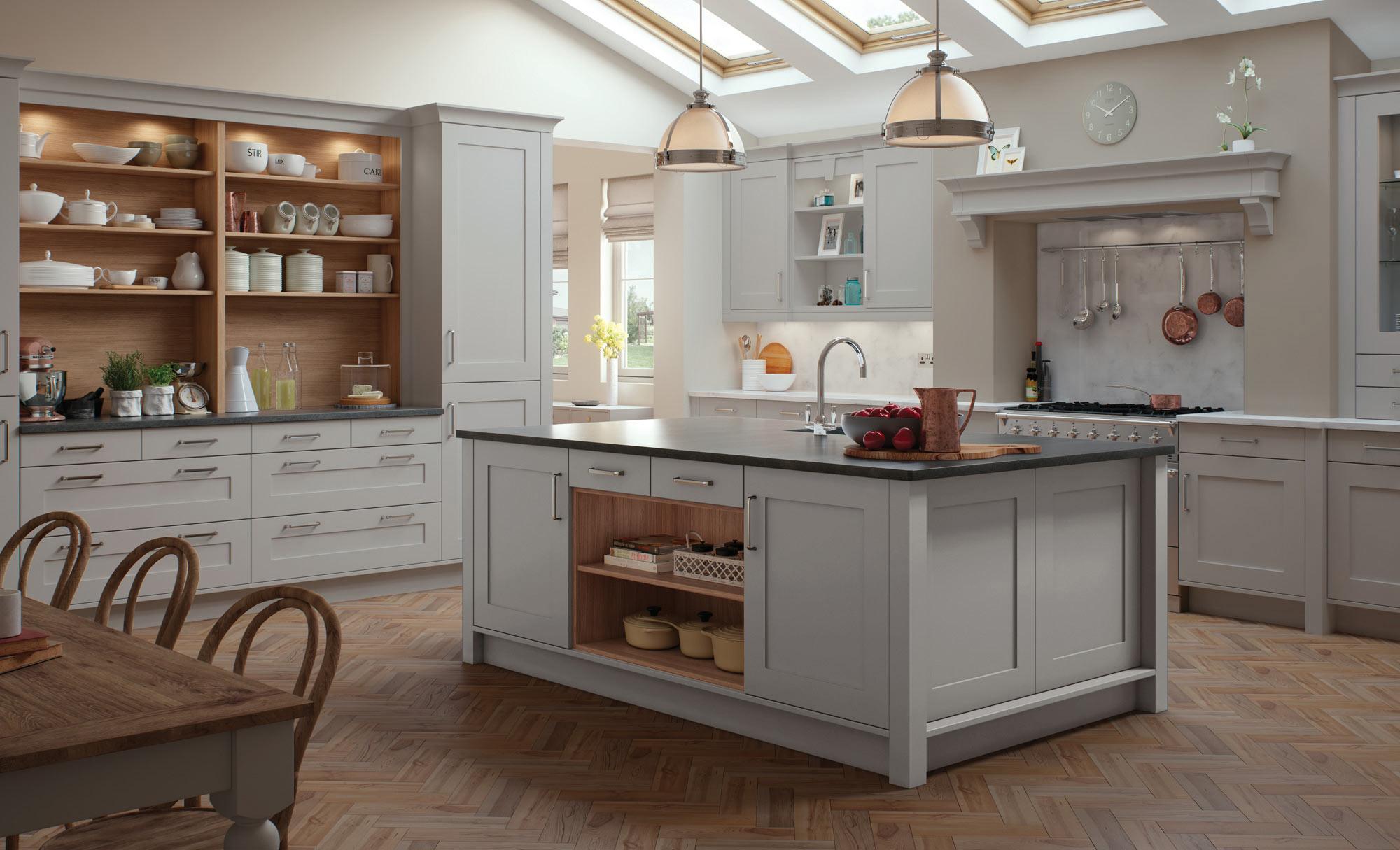 Uform Georgia Light Grey Kitchen
