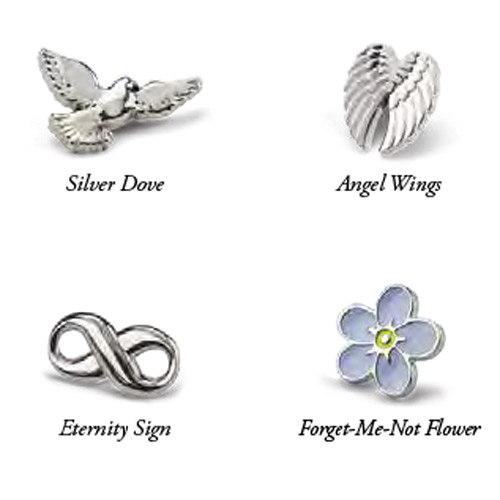 Image of our Memory Pins range