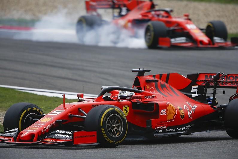 Ferrari at the 2019 F! Grand Prix