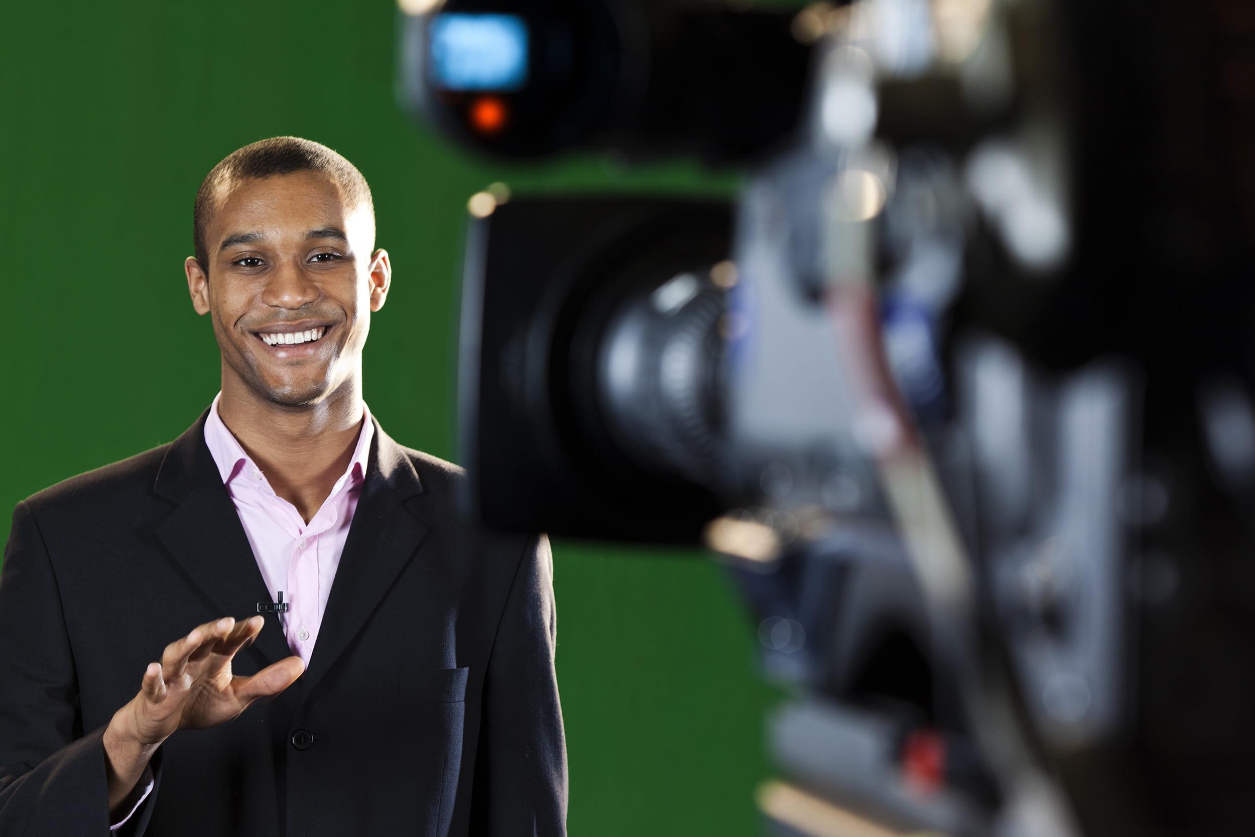 TV Presenter Training, London