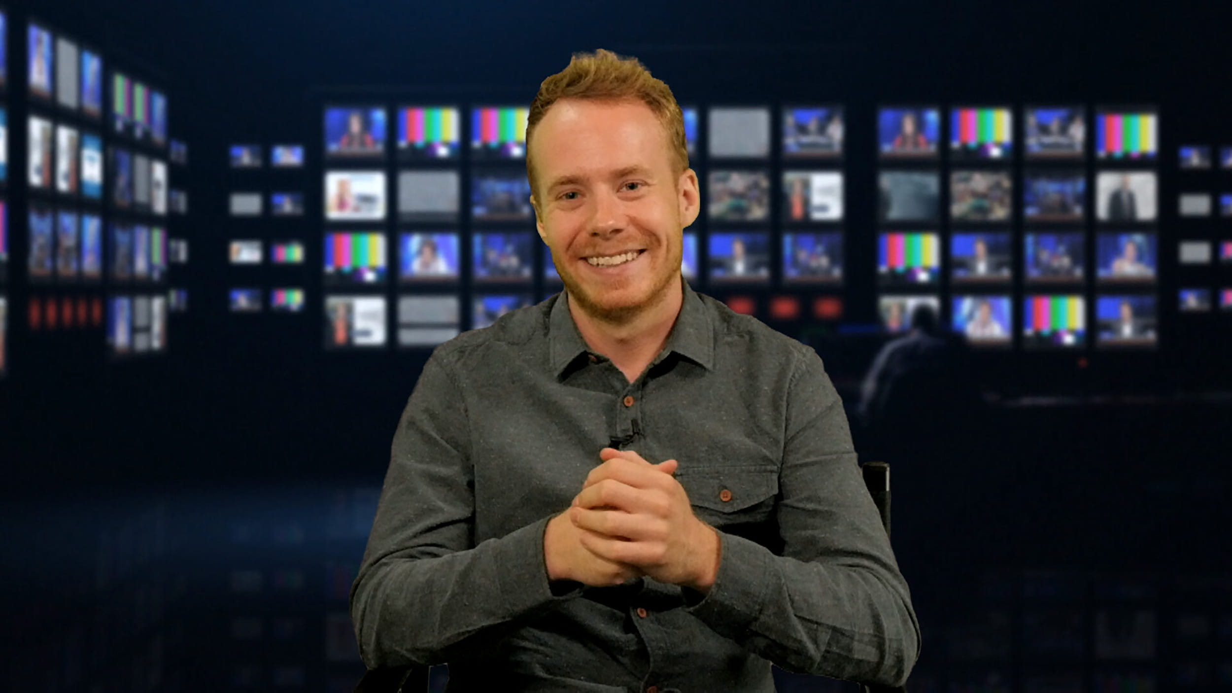 TV presenters course, piece to camera, London