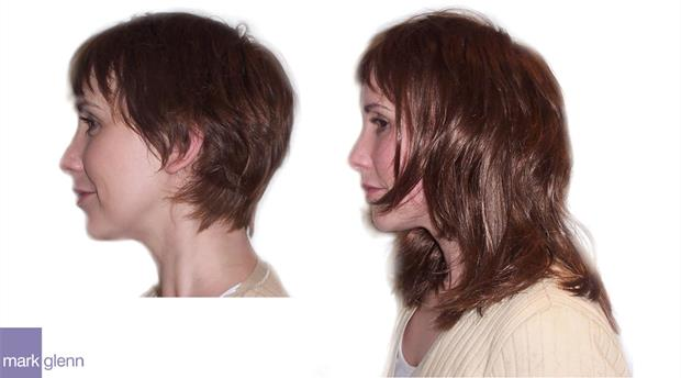 HE002 - Big Body Boost Hair Extensions Before & After - Mark Glenn, UK