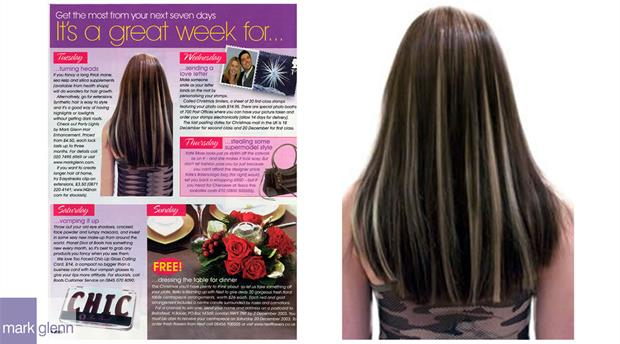 HE003-M - Highlights Without Chemicals Hair Extensions