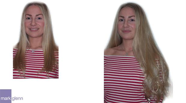 HE009 - Classic Long Blonde Hair Extensions
