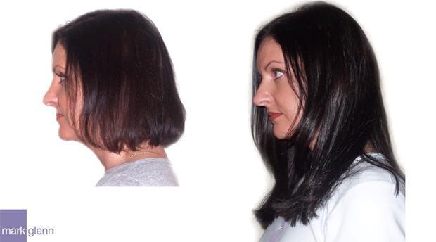HE016 - Classic Elegance Hair Extensions Before & After - Mark Glenn, London, UK
