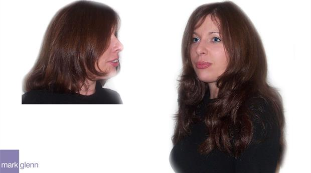 HE030 - Sexy, Soft and Dreamy Hair Extensions Before & After - Mark Glenn, UK