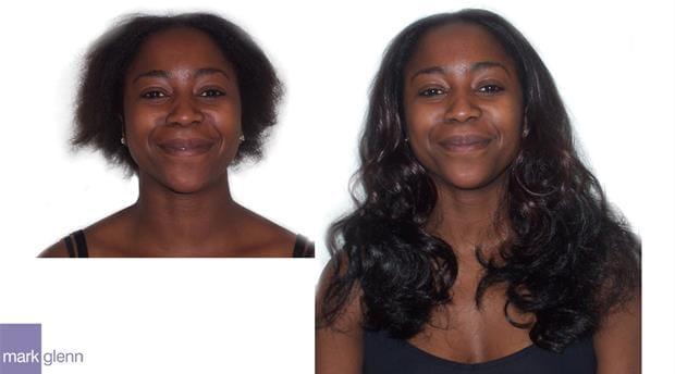 HE036 - Afro-Caribbean Wavy Hair Extensions - Mark Glenn, London, UK