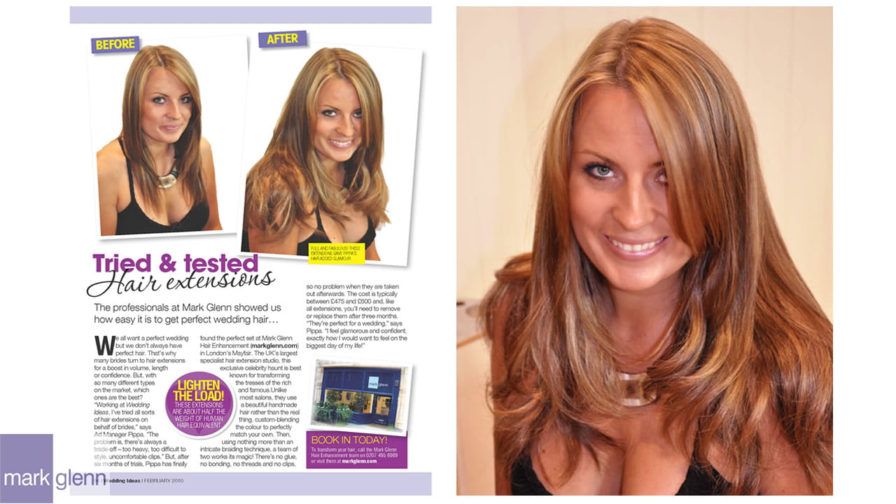 HE100-M - Full & Fabulous Hair Extensions - Tried & Tested - Mark Glenn, London