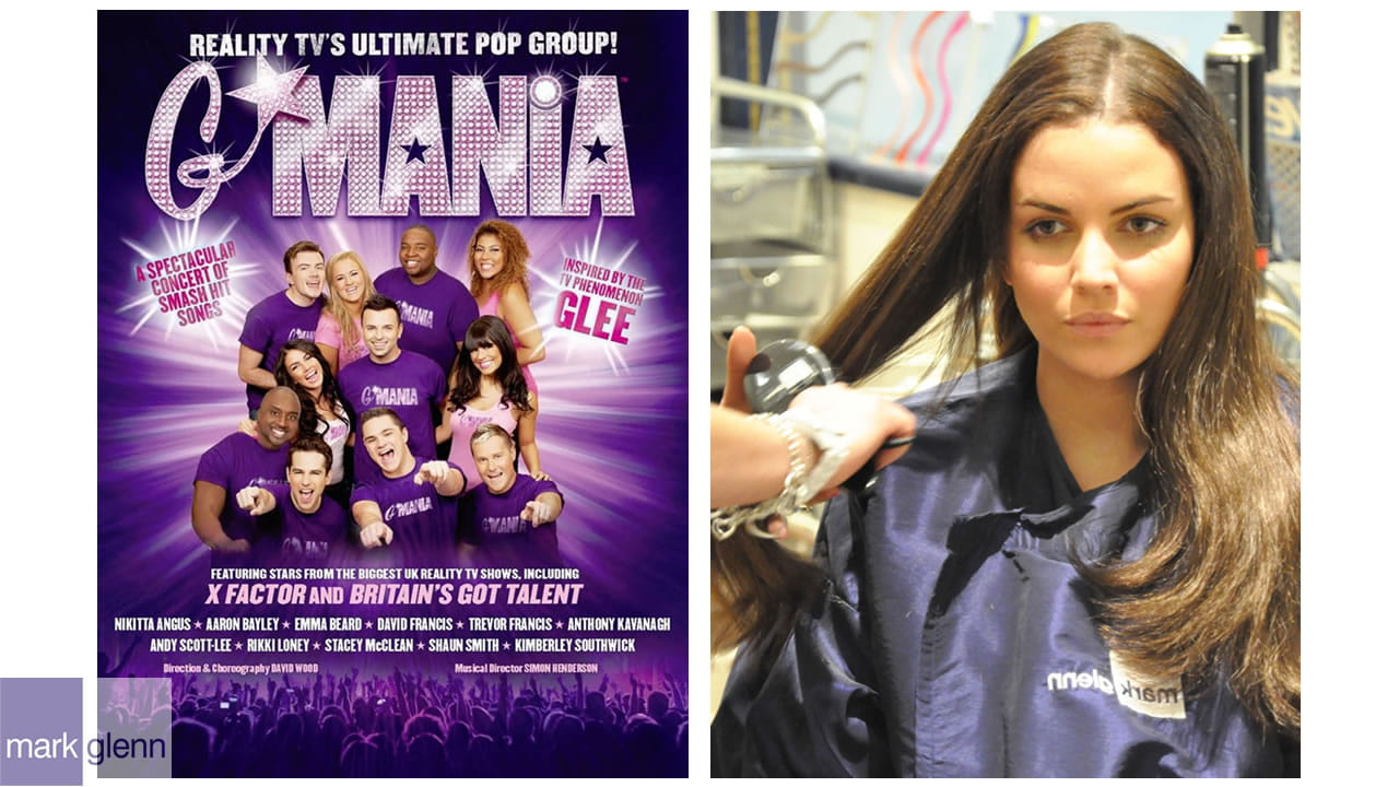 HE101-M - Triple 'Glee' Hair Extension Makeover