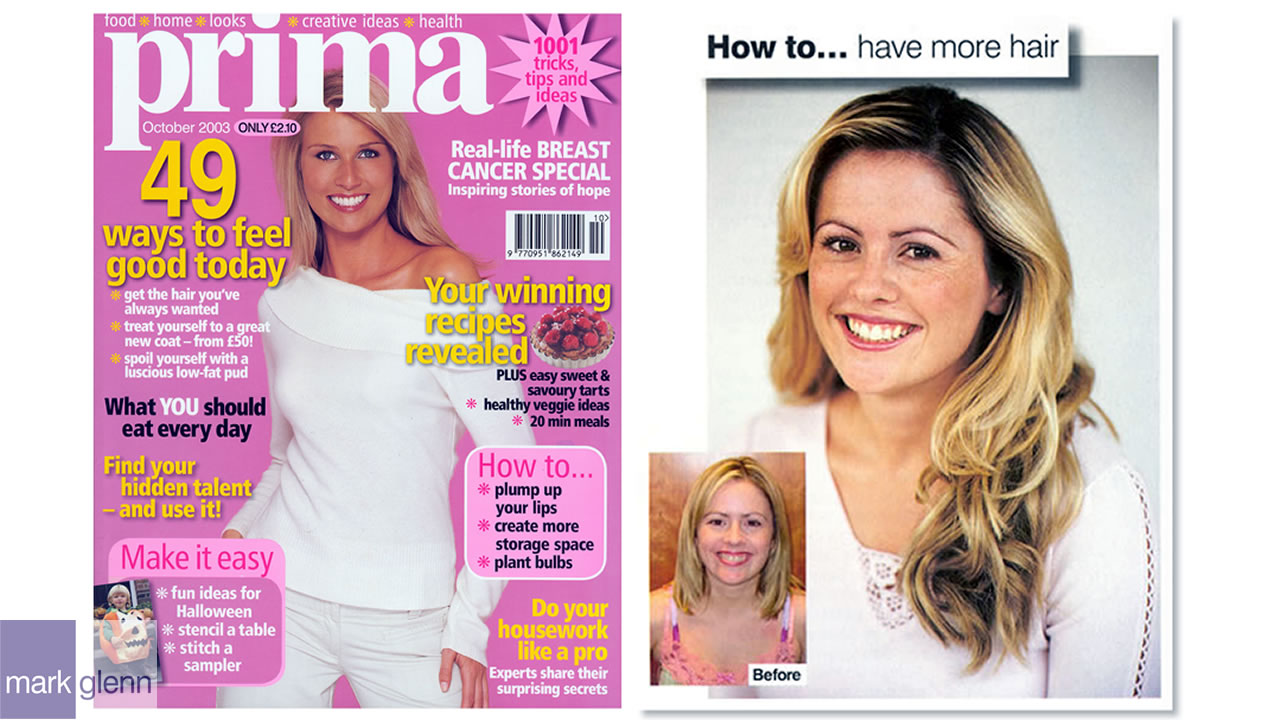 HE104-M - Stunning Blonde Hair Extension Makeover - London