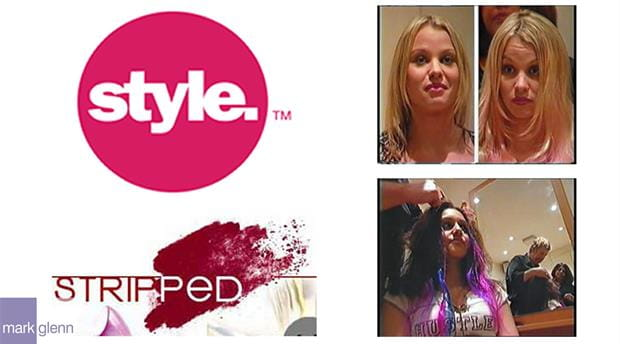 HE105-M - Style Network USA TV Hair Extension Makeovers
