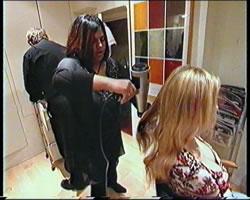 Mark Glenn Hair Extensions on USA Style Network