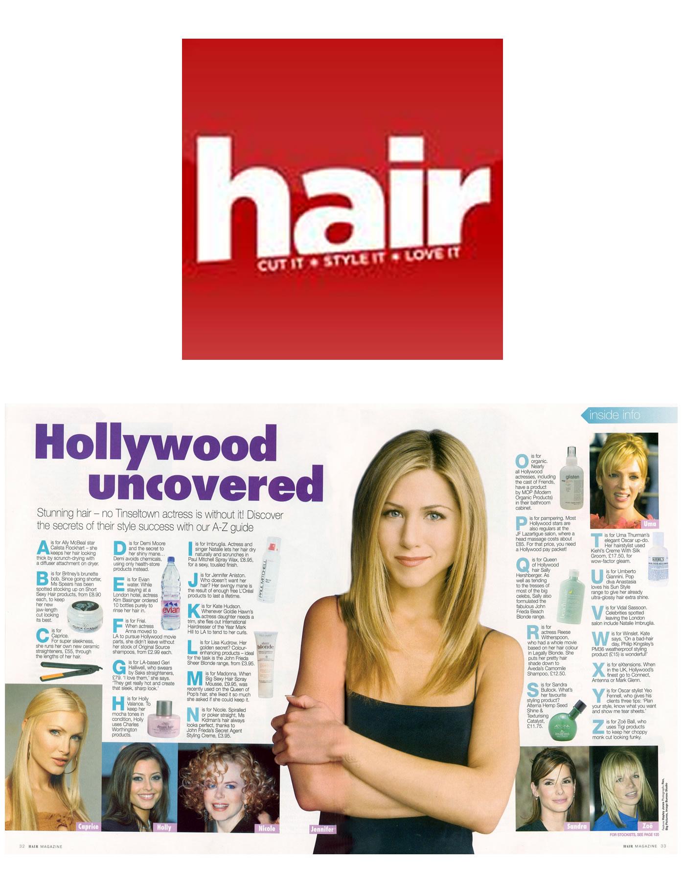 Hollywood's hottest turn to Mark Glenn - Hair Magazine